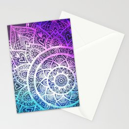 Space mandala 13 Stationery Cards