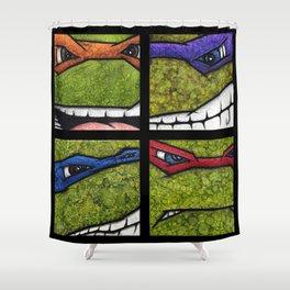 Teenage Mutant Ninja Turtles Set Shower Curtain