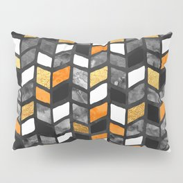 Fall Herringbone Pillow Sham