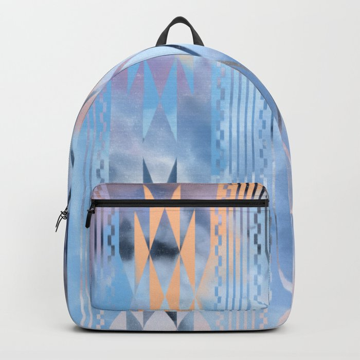 Blue Tribal No.1 Backpack