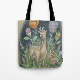 How to Glow in the Dark III:  Very Deer Tote Bag