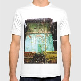 Nature finds the way inside... and outside... T-shirt