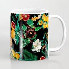 Fruit and Floral Pattern Mug