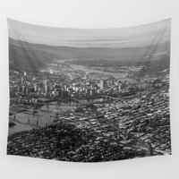 portland Wall Tapestries featuring Portland by Erik Graham Photography