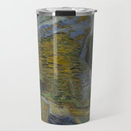 Ravine with a Small Stream Travel Mug