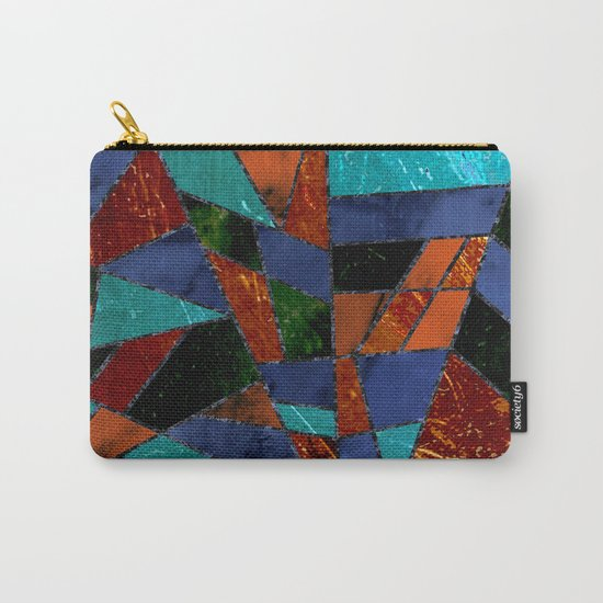 Abstract #447 Lava Flow Carry-All Pouch