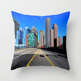 Boston Throw Pillow