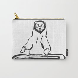 Sweatshirt Bear Carry-All Pouch