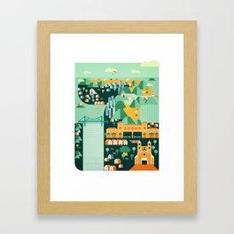 Floripa Brazil Framed Art Print