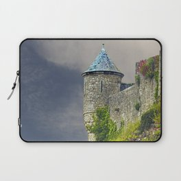 Small Tower of Mont St. Michel Laptop Sleeve