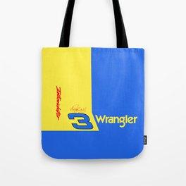 Dale Earnhardt #3 Wrangler Tote Bag