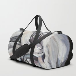 Sphynx, cat, sleeping animal Duffle Bag