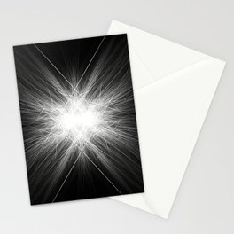 Scratched Metal Stationery Cards