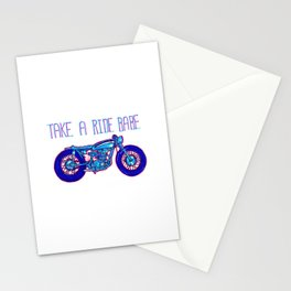 Take a ride babe Stationery Cards