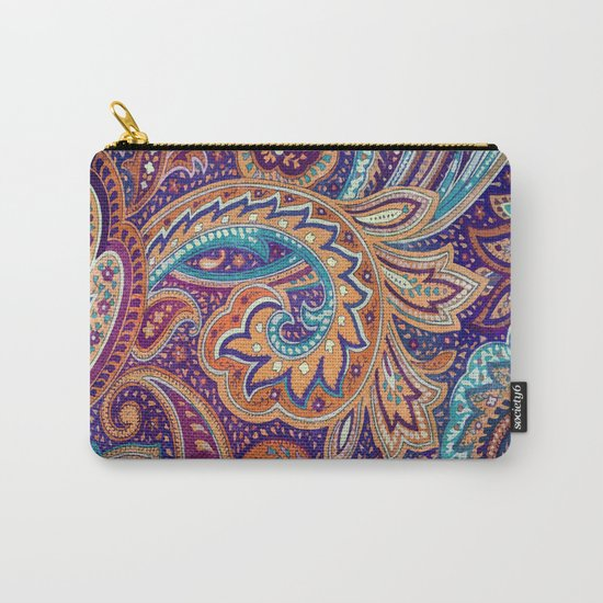 Summer paisley Carry-All Pouch