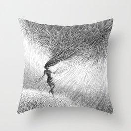Dissociating Throw Pillow