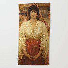 Queen Esther - Kate Gardiner Hastings Beach Towel