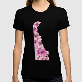 Delaware in Flowers T-shirt