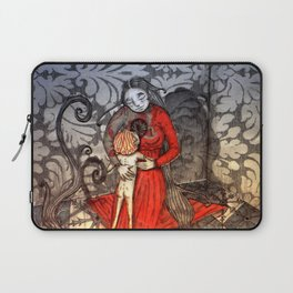 Cold feet boy warms a cold cold heart Laptop Sleeve