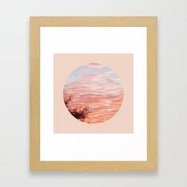 Texas Hill Country Sky - Sunrise 4 - Window Framed Art Print