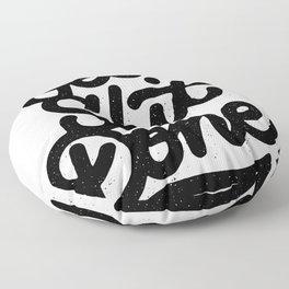 get shit done Floor Pillow