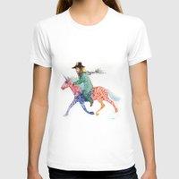 cowboy T-shirts featuring Cowboy by Ksenia Sapunkova