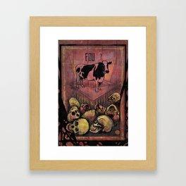 FOU? Framed Art Print