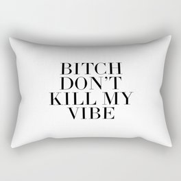 Printable Art,Good Vibes Only,Positive Vibes Only,Girls Room Decor,Quote Prints,Wall Art,Fashion Rectangular Pillow