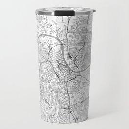 Nashville Map Line Travel Mug