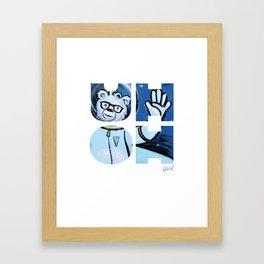 UHOH Framed Art Print