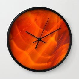 Fire Opal Wall Clock