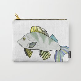Frowns Fish Carry-All Pouch