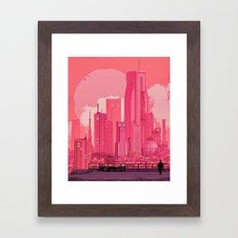 ZERO JOURNEY (everyday 11.19.17) Framed Art Print