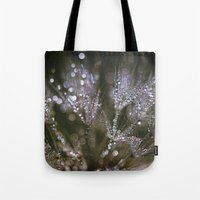 glitter Tote Bags featuring glitter by Bonnie Jakobsen-Martin
