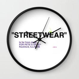 """STREETWEAR"" Wall Clock"