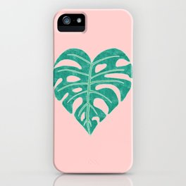 Leaf Heart iPhone Case