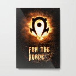 Wow Horde II Metal Print