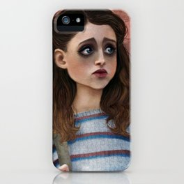 Nancy - Stranger Things Fan Art iPhone Case