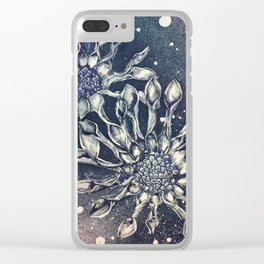 Blue Bell Tunicate Clear iPhone Case