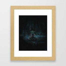 Meditation On Dagobah Framed Art Print