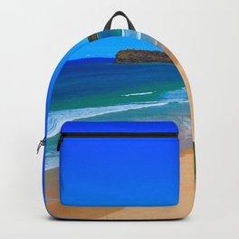 Blue Beach Backpack