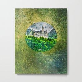 Neuschwanstein Castle Germany Metal Print