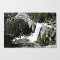 yosemite Canvas Prints featuring Yosemite by Andy Little