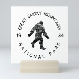 Great Smoky Mountains National Park Sasquatch Mini Art Print