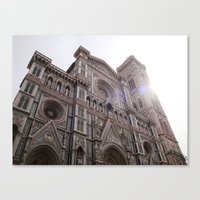 florence Canvas Prints featuring Florence by Chatoyantes