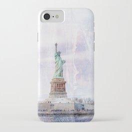 Statue of Liberty Art iPhone Case
