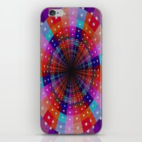carnival iPhone & iPod Skins featuring Carnival  by Laura Santeler