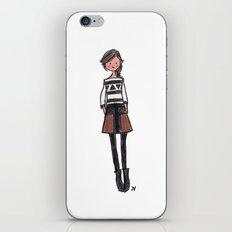Brown + Black iPhone & iPod Skin