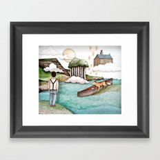 The Day We Saw the Sun Come Up Framed Art Print