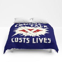 Careless talk costs lives Comforters
